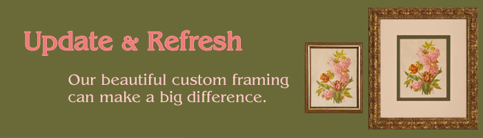 Reframe & Refresh Your Art